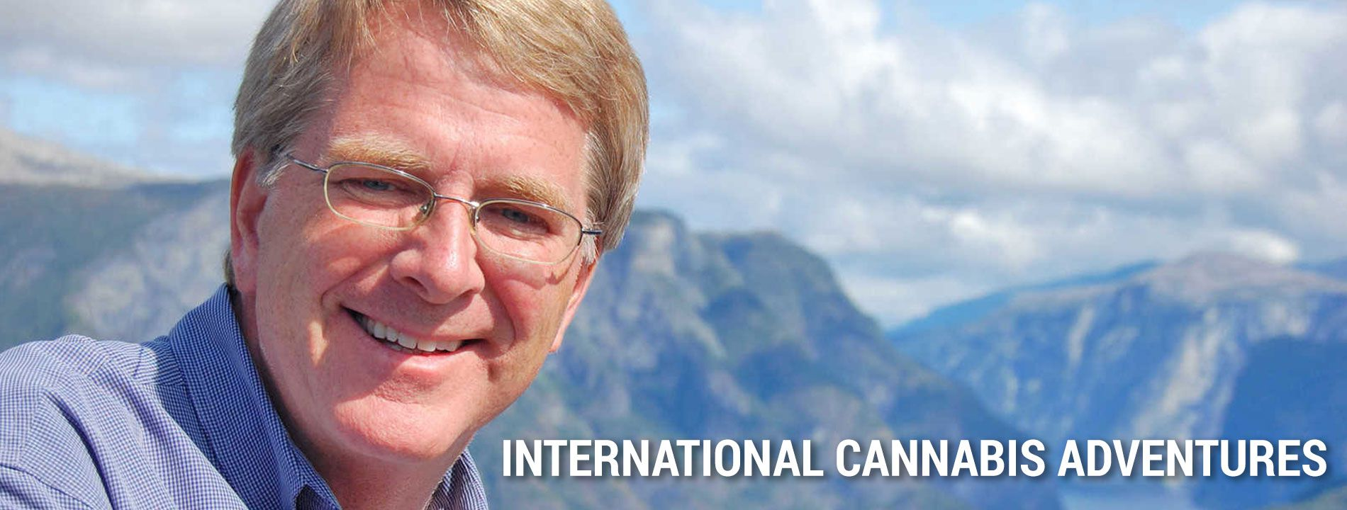 Rick Steves at the Virtual International Cannabis Business Conference speakers