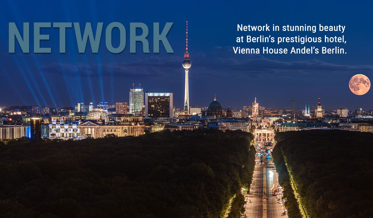 Network in Berlin at the Vienna House for the ICBC GIF