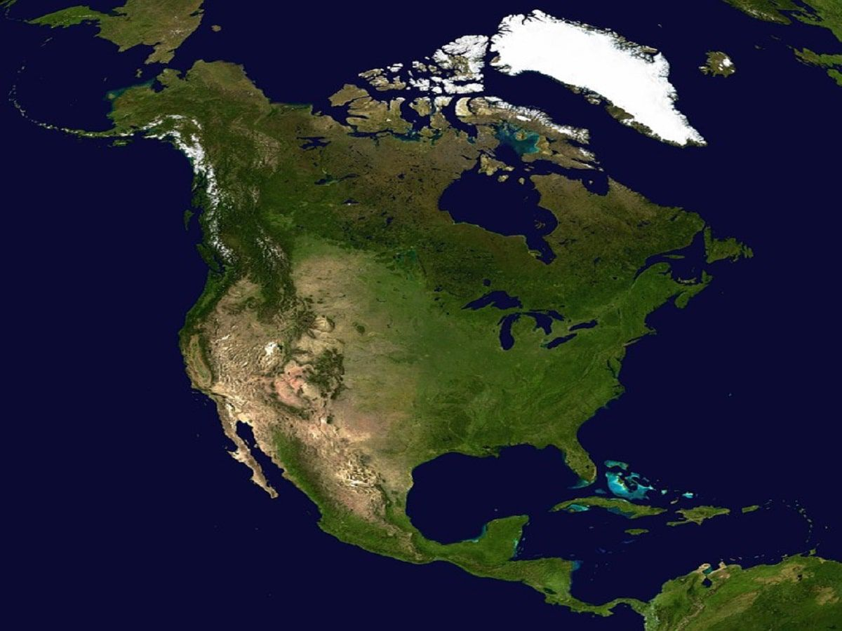 north america usa canada