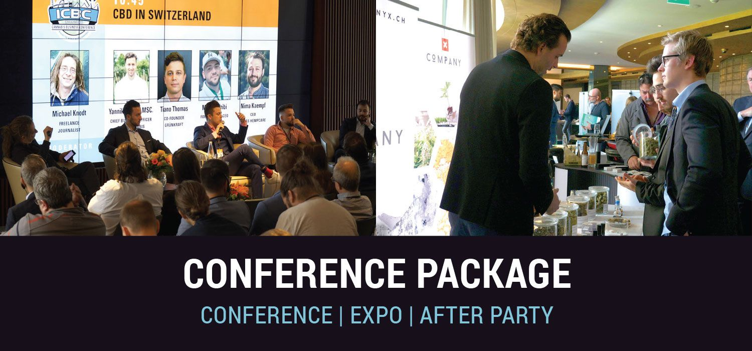 ICBC Conference Package - conference, expo, after party